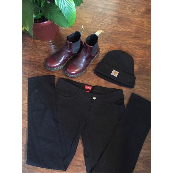 67c6b2cabd64 Dickies Pants - Size 11 Genuine Dickies black jeans 🖤